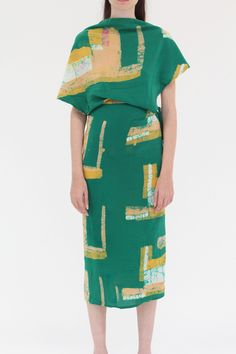 Osei Duro Katharos Dress (perhaps in a different colour... but I love the contrast pencil skirt and drape top.)