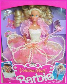 1990 Costume Ball Barbie
