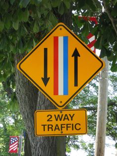 Greatest street sign ever. Unique to Bristol. :)  @thedailybasics ♥♥♥ The oldest 4th of July parade in the US is here