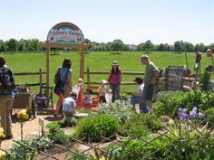 Loudoun County Master Gardeners. Children's garden ideas