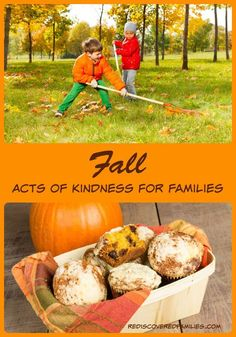 Want your kids to practice kindness? Try these easy Fall acts of kindness for children and get the whole family involved. How many will you do? (Free Printable):