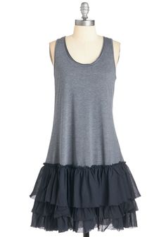 Casual Cutie Dress. Youve got casual-chic down pat thanks to this navy dress! #blue #modcloth