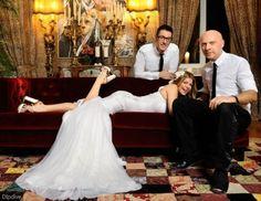 Dolce & Gabbana #Fergie #vestido #novia #boda