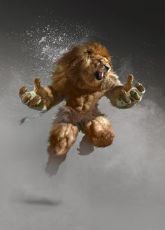 lion fighter by yakun wang Sparrow Volume 8: Glenn Barr