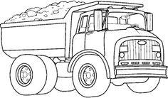 Un camion-benne.