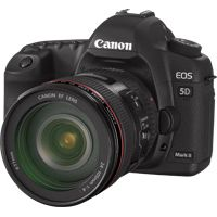 Canon EOS 5D Mark II - I'm a bit spoiled now, though waiting for Mk III might be worth the time