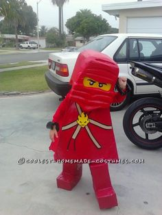 Ninjago KAI Halloween Costume... This website is the Pinterest of costumes