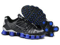 info for d7a19 5f16c Shox Nike Shox TLX Black Royal Blue  Nike Shox TLX - Try these black and  blue pair of running shoes. Here is the Nike Shox TLX Black Royal Blue.