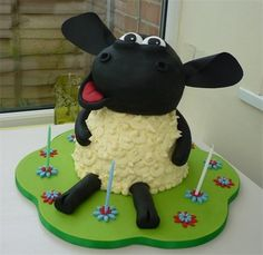 Shaun The Sheep Novelty Lolly Cakes Shaun Has No Age Limit This - Sheep cakes birthday