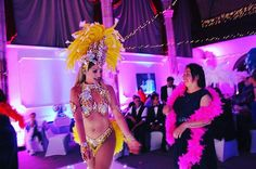 """""""'No - it goes like this' 💃- #samba #sambadancers #hot #girls #dancers #dancing #riodejaneiro #themedevents #themedparty  #featherboa #partytime #partyideas - another great #photo from last week's #anniversary #party in #cornwall #summervibes #summerfun #eventprofs #eventprofsuk"""" by @the_vegas_show_girls (the_vegas_show_girls). • • What do you think about this one? @contemporarycatering @convenemeetings @conversion_management @coolcanvas,@cortevents_hollyd @cortevents_kerri @craigskill…"""