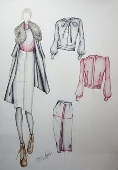 Artistic Fashion Drawing