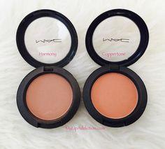 MyLipaddiction.com blushes - harmony and coppertone - mac @catforsley