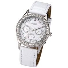Oasis B278 Women's Beautiful Stone Encrusted Multifunction Dress Watch - B278