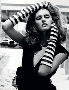 Ali Stephens by Thierry Le Gouès for French Revue de Modes <3!