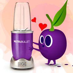 Aaa o to tu chodzi! ❤😍 Ty też możesz zakochać się w fiolecie razem z NutriBullet Violet - Pyszna przygoda rozpoczyna się teraz! 🎉🍓🍍🍎🍉  #love #miłość #violet #nutribullet #nutribulletpolska #smoothie #happy #happiness #energy #uśmiech #szczęście #power #beauty #beautiful #przygoda #adventure #smacznie #zdrowo #kolorowo Nutribullet, Magic Bullet, Beautiful