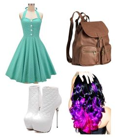 """""""school"""" by shae-l-jensen on Polyvore featuring H&M and Leg Avenue"""