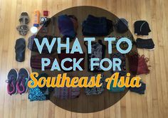 Choosing what to pack for Southeast Asia can be overwhelming. It doesn't have to be, though. Here's what I packed for 4 months throughout the region.