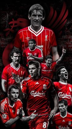 Liverpool legends #football #legends #liverpool #art #soccer Liverpool Anfield, Liverpool Champions, Liverpool Legends, Liverpool Players, Liverpool Home, Premier League Champions, Liverpool Football Club, Liverpool Fc Wallpaper, Liverpool Wallpapers