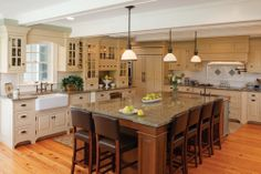 Victorian Inspired Kitchen (Cultivate.com)