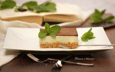 Cheesecake con yogurt di soia al cocco e tè matcha