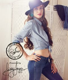Wrangler presents Denim Spa: Jeans infused with moisturisers to soothe and smooth your legs, as modelled by Lizzy Jagger!