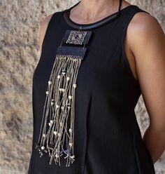 collana Pinned by @Manaro Design  Jewelry | Beading | Bracelet | Necklace | Earrings