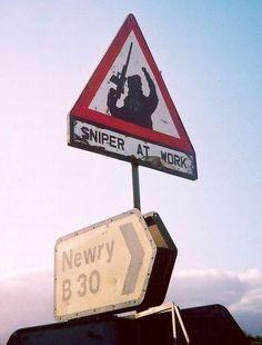 Sniper At Work Northern Ireland - Provisional Irish Republican Army (IRA)