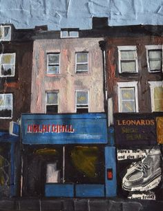 Buy Islington; Indian Restaurant, Acrylic painting by Andrew  Reid Wildman on Artfinder. Discover thousands of other original paintings, prints, sculptures and photography from independent artists.