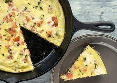 Tomato Broccoli Frittata Recipe ~ Food Network Recipes #tomato #broccoli #recipes #food