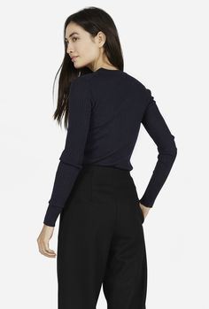 The Ribbed Wool Long-Sleeve from Everlane