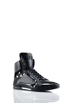 Versace - Patent Leather High Top
