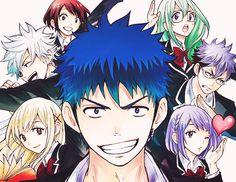 El rincon de Perpi: Manga Recomendación: Yamada-kun to 7 nin no majo