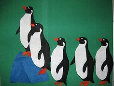 Only connect: Penguin-themed storytime.