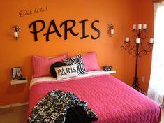 Paris Teen Girls Bedroom Ideas | Paris/Eiffel tower room - Girls' Room Designs - Decorating Ideas ...