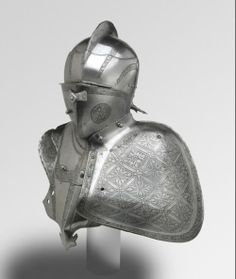 Attributed to Hans Rosenberger Armor for the German Joust in the Field (Freiturnier) ca. 1560 Augsburg Etched and partially blackened and gilded steel