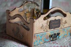 """Столик сервировочный""""Золотой дуб"""""""" - поднос,поднос для завтрака,поднос деревянный"""