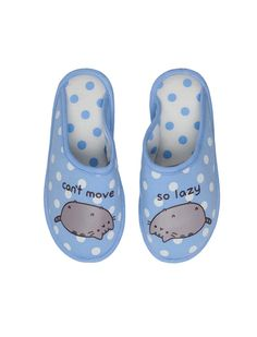 women'secret | Products | Pusheen open slippers Gato Pusheen, Pusheen Love, Pusheen Stuff, Sock Shoes, Baby Shoes, Pusheen Stickers, Cute Slippers, Girls Slip, Kawaii Shop