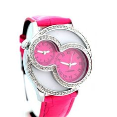 I love the girl's watch designs.