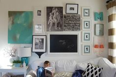 Make a gallery wall!