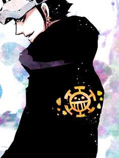 Trafalgar Law One Peice Anime, One Piece Fanart, I Love Anime, The Pirate King, One Piece 1, One Piece Pictures, Trafalgar Law, Nico Robin, Blue Exorcist