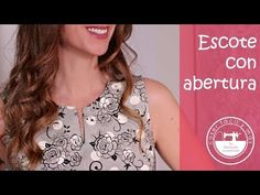 Sewing Tutorials, Sewing Projects, Couture, Dress Neck Designs, Knitting, Crochet, Womens Fashion, Dresses, Patterns