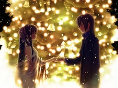 weheartit anime couple | Cute 'Anime Couples' Picture Collection... | FancyWall | We Heart It