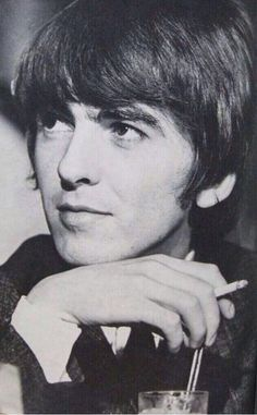 """george harrison This guy amazed me from the first day I saw him on Ed Sulivan, that solo he did when they performed """"All My Lovin"""" on Ed Sullivan was stellar, using a pick and his fingers/"""