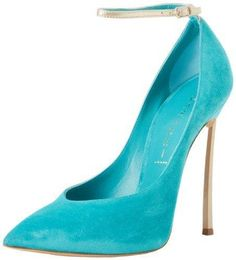 Casadei #shoes #pumps #heels - love this electric blue suede Casadei!!