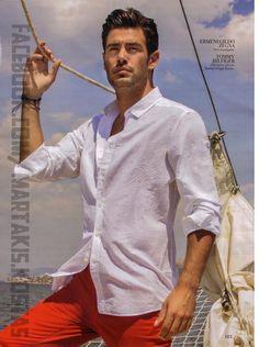 Kostas Martakis Hot Men, Sexy Men, Hot Guys, Kostas Martakis, Greek Men, Magazine Man, Greek Music, Male Fashion, Male Models