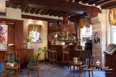 PARIS I Hôtel Saint-Paul Le Marais > The lobby - Bar