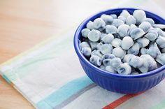 Recipe: Frozen Blueberry Yogurt Bites