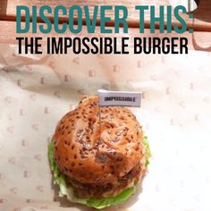 This Meatless Burger Has Everyone Fooled