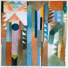 Paul Klee - The woods which arose from the seed