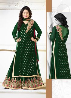 Online Green Wholesale Anarkali long suits - Suratwholesaleshop.com  #Wholesale #surat #Shop #Bulk #Supplier #Exporter #Indian #USA #UK #Dresses #Online